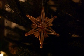 Straw star, typical for Styria and other Austrian regions.