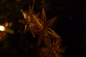 Straw stars, typical for Styria and other Austrian regions.