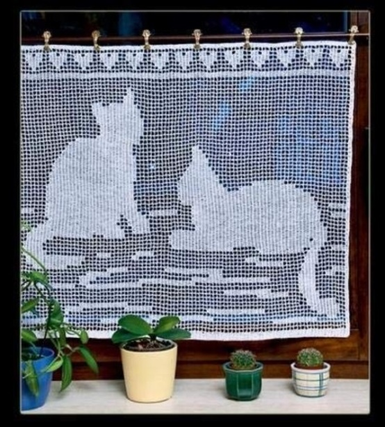 CatCrochetCurtains